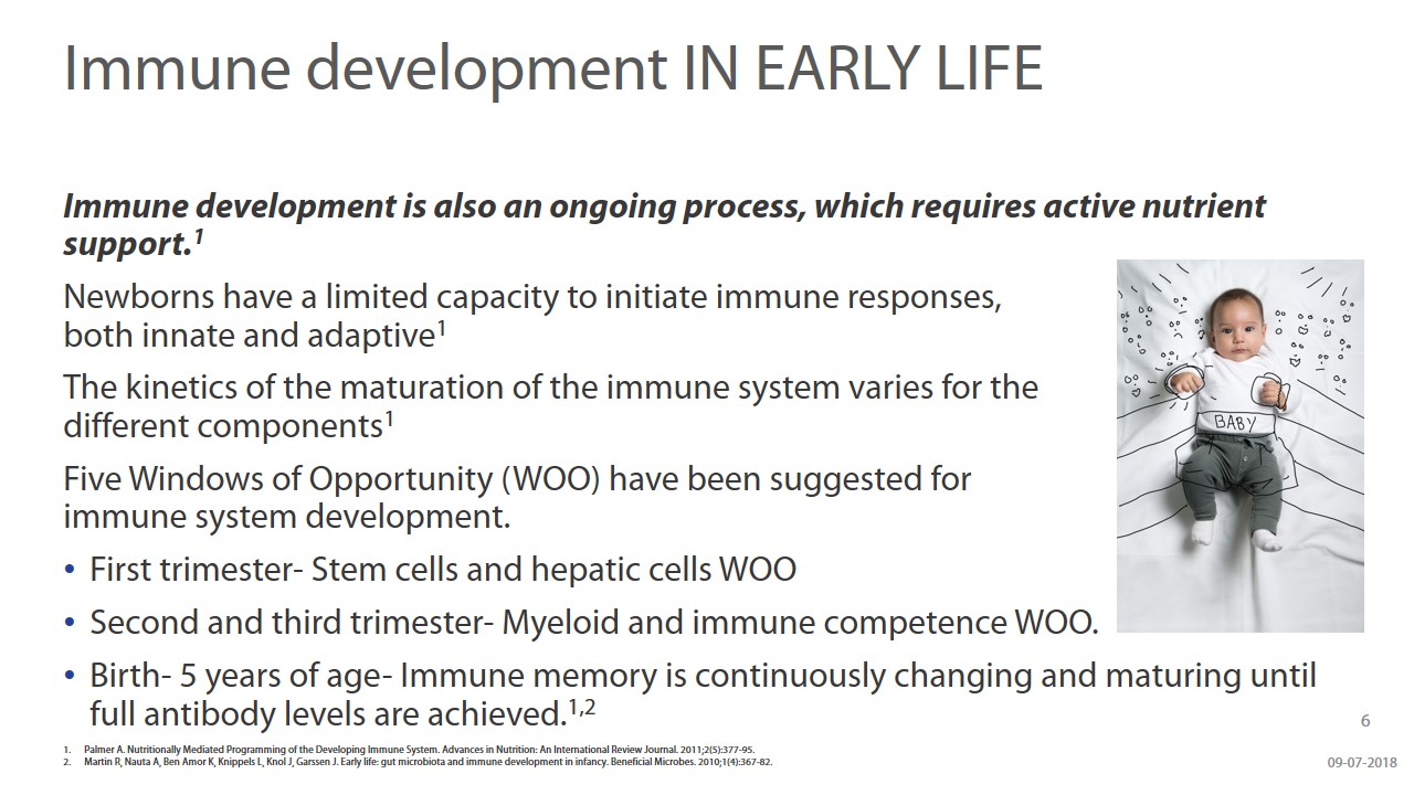 Beyond Brain Development - Understanding The Role Of DHA & ARA During Infancy slide 6