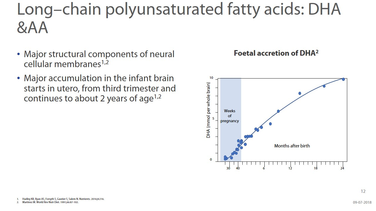 Beyond Brain Development - Understanding The Role Of DHA & ARA During Infancy slide 12