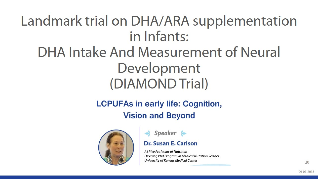 Beyond Brain Development - Understanding The Role Of DHA & ARA During Infancy slide 20