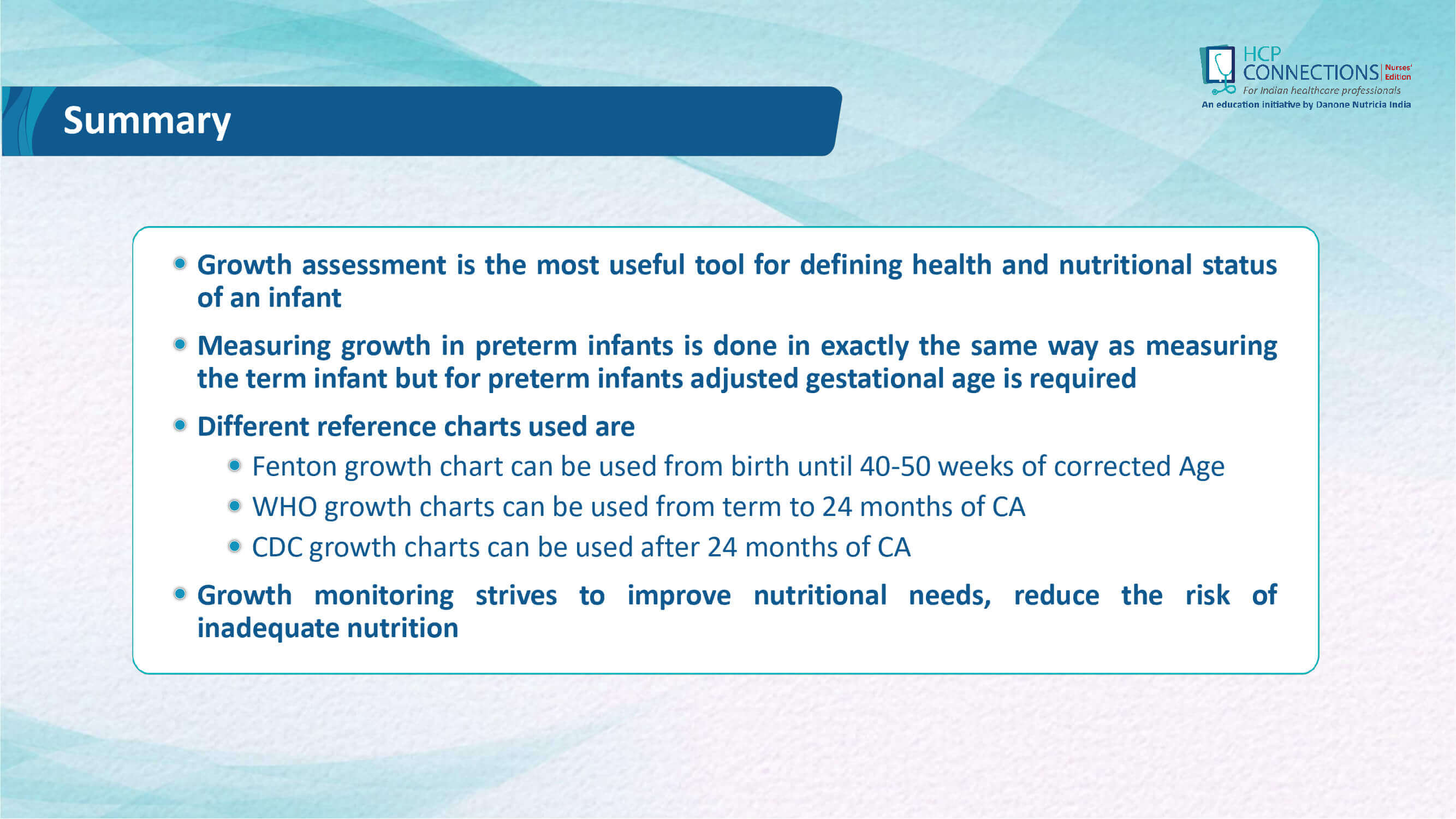 Growth assessment in Preterm infants slide 35